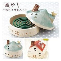 Pottery is elegant, diverse and quite the attractive addition to any part of your home. The kitchen is no exception as it can also benefit from the addition of pottery in a variety of ways. Clay Houses, Ceramic Houses, Ceramic Clay, Ceramic Pottery, Slab Pottery, Ceramic Bowls, Diy Clay, Clay Crafts, Diy And Crafts