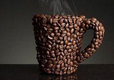 Coffee bean mug.