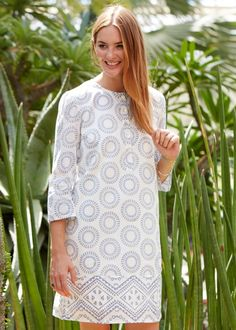 People Tree | Cassidy Tunic in Blue