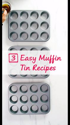 😋 Muffin Tin Recipes 😋