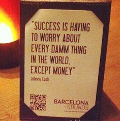 Success everything except money