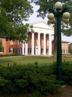 Lyceum, University of Mississippi, Oxford, MS   by jrmoore6584, via Flickr