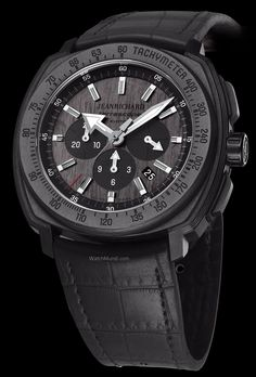 JeanRichard - Terrascope Chrono Carbon. The perfect timepiece for chronograph and carbon aficionados.