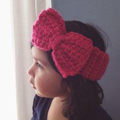 Toddlers Crochet Headband by SewCreativelyAniV on Etsy, $12.00