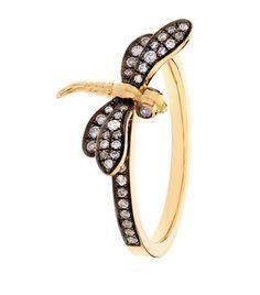 Annoushka Love Diamonds Dragonfly Ring