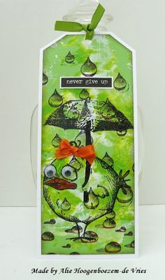 Alie Hoogenboezem-de Vries: Playful moments with the Tim Holtz Crazy Birds