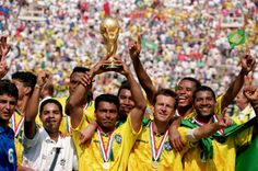 World Cup Champion 1994 - Brazil Russia World Cup, Brazil World Cup, Fifa World Cup, Soccer World, World Football, Rose Bowl, Premier League, History Of Soccer, Brazil Men