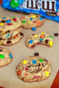 Chewy Oatmeal MM Cookies