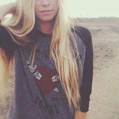 Lovely long hair!