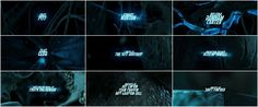 Fight Club / Main Title Type Design - P. Scott Makela / Visual Effects Supervisor - Kevin Tod Haug / Visual Effects Supervisor - Kevin Mack / Opening Sequence Team Leads - David W. Prescott, Judith Crow / STYLES - 1990s, 3D, CGI, animation, MOVIE main title, single take, typographic Special Visual Effects and Digital Animation: Digital Domain