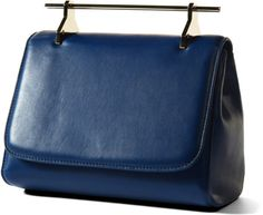 Love this: La Muse Venale in Royal Blue with Gold Hardware @Lyst