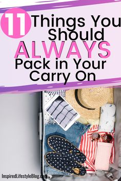 All travel can be stressful, I'm sharing with you how to make the perfect carry on bag by sharing what to pack in a carry on and what airport essentials you need next time you travel! #travel #traveltips travel tips airplane Travel Info, Cheap Travel, Travel List, Travel Stuff, Carry On Bag Essentials, Travel Essentials, Travel Hacks, Airline Travel, Travel Abroad