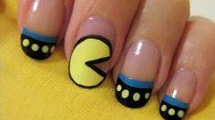 Pac-Man Tırnak Süsleme -