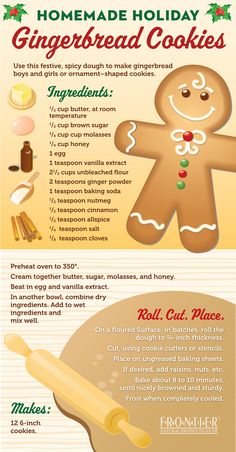 Homemade Holiday Tips: Gingerbread Cookies Recipe 8