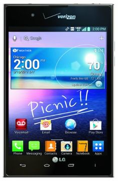 LG Intuition Android Phone (Verizon Wireless) - A very cool Phablet Cell Phones For Sale, Newest Cell Phones, Cell Phone Prices, Latest Mobile Phones, Mobile Phone Price, Cell Phone Plans, Verizon Wireless, All Smartphones, Phone Service