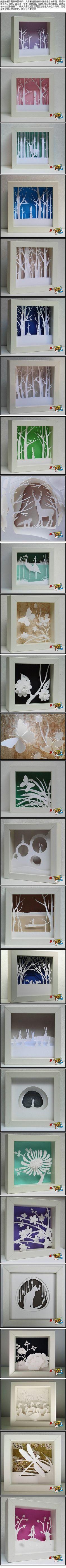纸雕的制作...来自_星_欣_心_的图片分享-堆糖