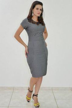 Vestido Risca - Moda Evangélica e Roupa Evangélica: Bela Loba