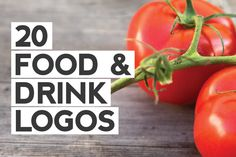 Check out 20 Food & Drink Logo Templates by Maroon Baboon on Creative Market
