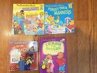 Berenstain Bears LOT OF 4 Children's Books First Readers Hardcover and Softcover