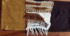 silk and weaving fabric