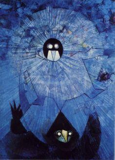 """""""Los Oscuros Dioses"""" 1957 Max Ernst  https://www.facebook.com/media/set/?set=a.200344660124767.1073741829.122558571236710&type=1&l=e192c18bc4"""