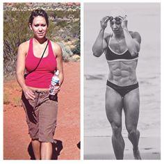 Miranda Oldroyd Before CrossFit Vs 7 Years Of Crossfit Women Athletes