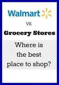 Is it really cheaper to buy things at Walmart instead of using coupons and shopping the sales at regular grocery stores? Where do you save the most money? The results may surprise you. Shopping Coupons, Grocery Coupons, Shopping Hacks, Grocery Store, Life On A Budget, Living On A Budget, Frugal Living Tips, Couponing 101, Extreme Couponing
