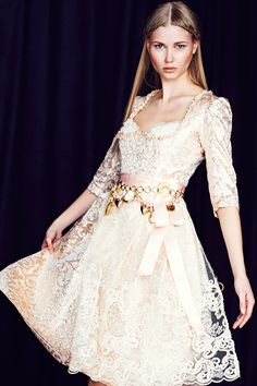 Ophelia Blaimer - Couture - Dirndl - My Precious - Pearl Oyster