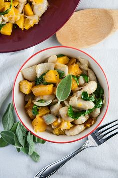 Brown Butter Gnocchi with Roasted Squash and Kale - Seasoned Sprinkles Seasoned Sprinkles Roasted Squash, Butternut Squash, Vegetable Seasoning, Brown Butter, Gnocchi, Kale, Food Print, Sprinkles