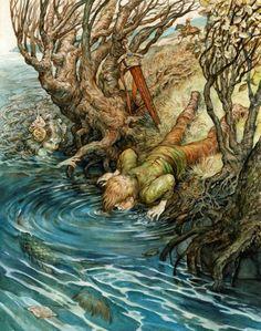 """""""A Sereia e o Menino"""" de Omar Rayyan"""