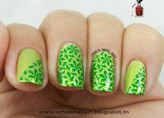 Uma's Nail Art: Spirograph Nails....