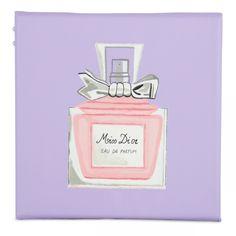Biha Designs: Canvas Paiting - Miss Dior Perfume Mini