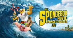 EVERYONE'S FAVORITE SPONGE IS COMING ASHORE FOR WORLD OCEANS DAY!!