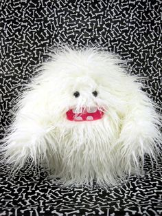 Plush Monster ....A Yeti Toy by scrumptiousdelight on Etsy