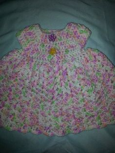 Multicolored newborn hand crocheted baby by DJCrochetCreations, $25.00