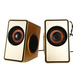 Ofnote YD - 011 3.5mm USB Powered Computer Speaker #CLICK! #clothing, #shoes, #jewelry, #women, #men, #hats