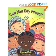 Can You Say Peace?   International Day of Peace - Sept. 21