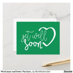 Card Tattoo, Good Luck To You, Get Well Soon, Holiday Postcards, Zazzle Invitations, Artwork Design, Postcard Size, Paper, Prints