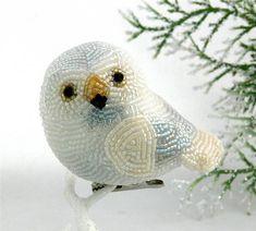 Очаровательные птички из бисера: 17 прелестных работ от Meredith Dada - Ярмарка Мастеров - ручная работа, handmade