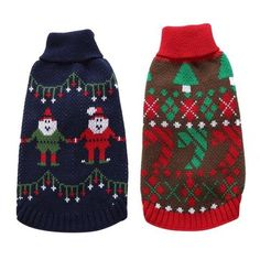 Classic Pet Dog Sweater Clothes For Dog Christmas Vintage Reindeer Roupas Pet Autumn Winter Holiday Xmas Dog Clothing Christmas Fashion, Christmas Dog, Diy Christmas Gifts, Christmas Holidays, Christmas Sweaters, Winter Holiday, Gifts For Pet Lovers, Pet Gifts, Dog Lovers