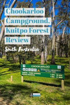 As a popular camping spot for locals in Adelaide, Chookarloo Campground, located in Kuitpo Forest, South Australia is a perfect spot for a bit of bush camping! Tent Camping Checklist, Camping In Nj, Kentucky Camping, Camping Spots, Family Camping, Camping Hacks, Camping Items, Packing Checklist, Camping Trailers
