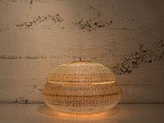 claesson koivisto rune: wicker lamps for made in mimbre at LDF - designboom | architecture & design magazine