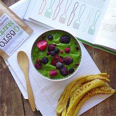 Banana Avocado 'Ice Cream', raw + vegan // inmybowl.com