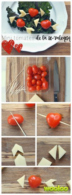 Voici comment faire ces mignonnes mini tomates de la St-Valentin http://wooloo.ca/2017/02/03/mini-tomates-de-st-valentin/