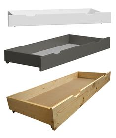 ✅ High-quality #under #bed #storage #drawers made of #solid #pine #wood available in 6 colours and 3 sizes! Drawers are equipped with wheels and the shipping is free!