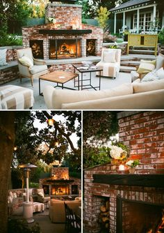 outdoor party via verdigrisvie blogspot