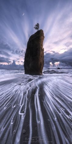 Abandon - I've just released the latest video in my behind-the-scenes tutorial series, which features this image. This is an image of a seastack on the olympic coast of washington, which has since fallen down! Bums me out! But I'm happy to have this shot, and to share with you how I made it. It covers topics such as use of high amounts of clarity, perspective blending, wide angle distortion tricks, and more. If you are interested, <a…
