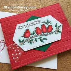 Stampin' Savvy - Creating Handmade Happiness with Stamps, Ink & Paper!