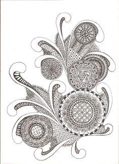 zentangle, indian ink Zentangle, Indian, Ink, Zentangles, Zen Tangles, Indian People, Ink Art, Doodles, India