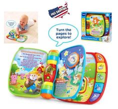 Original-Musical-Book-learning-motor-skills-Toy-sound-colorful-animals-Toddler